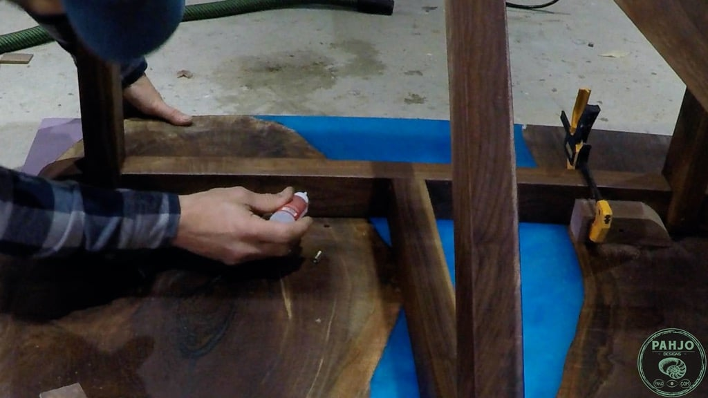 installing threaded inserts in wood using CA glue