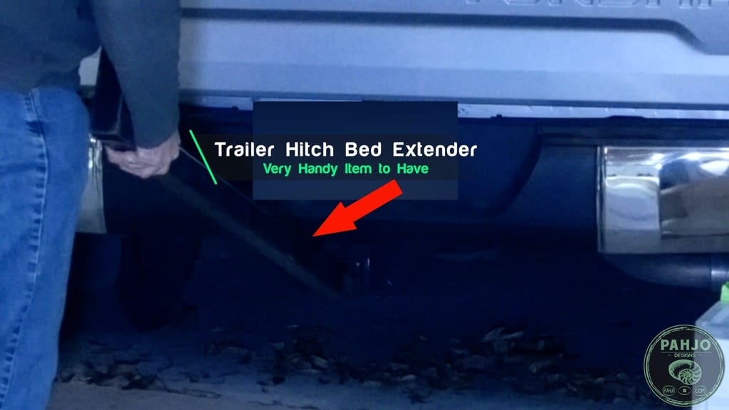 truck bed extender for hauling long items