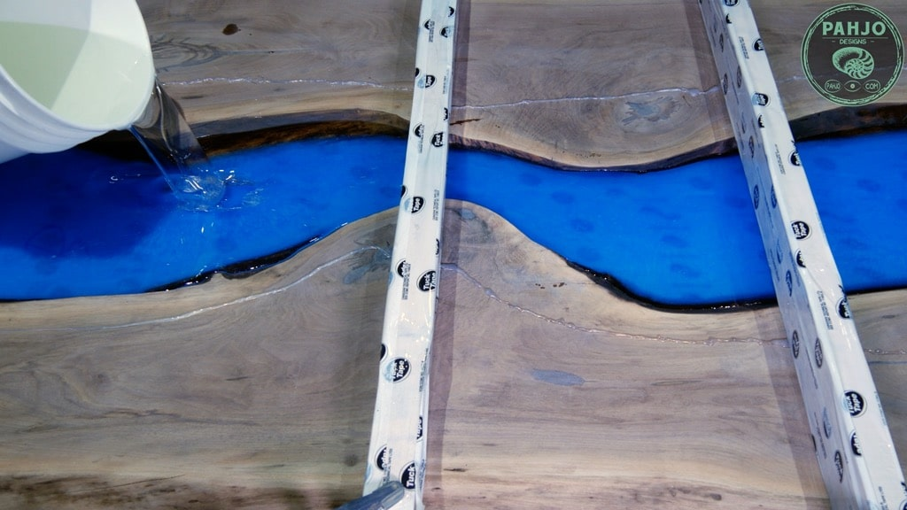 epoxy deep pour second layer