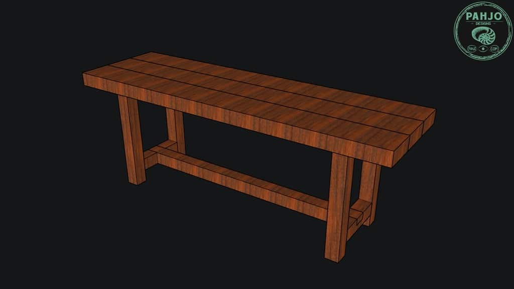 Dining Table Bench design